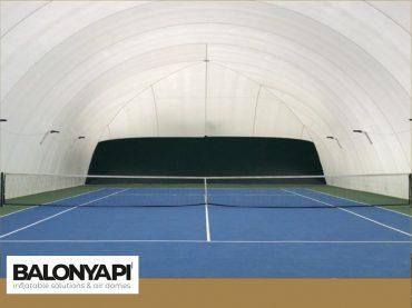 Tenis Kortu Kapatma